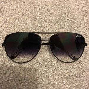 Quay High Key Black/Fade Sunglasses - BRAND NEW